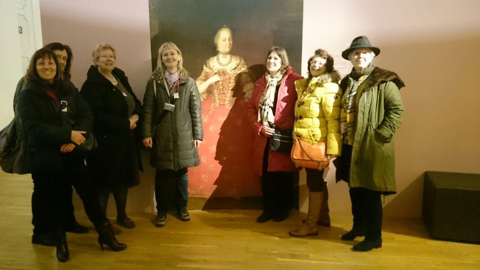 Ausstellung Maria Theresia in der Wagenburg, 19.04.2017